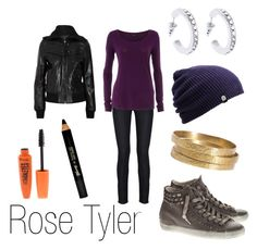 """""""Rose Tyler"""" by ja-vy ❤ liked on Polyvore featuring Citizens of Humanity, Barry M, Rimmel, LEATHER CROWN, Karen Millen, Dorothy Perkins, Jigsaw, Calvin Klein Collection, doctor who and rose tyler"""