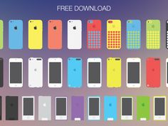 Apple flat devices (EPS) by Mirko Monti