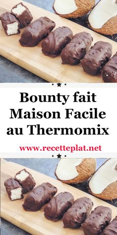 Chocolates, Thermomix Desserts, French Desserts, Cooking Chef, Diy Food, Commerce, Healthy Dinner Recipes, Chicken Recipes, Food And Drink