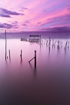 Purple in Portugal... So calm and tranquil.