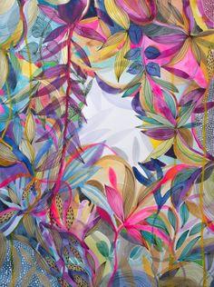 The Vibrant Garden by Helen Wells