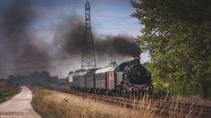 https://flic.kr/p/LzpLzS | Locomotive à vapeur 141 TB 424 | Train à vapeur de…