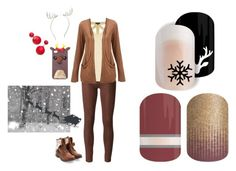 """""""Guess the Christmas Movie - Jamberry Nails Game"""" by kspantonjamon on Polyvore featuring Koral, Warehouse and claire's"""