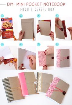 #papercraft #repurposing: Creative DIY Ideas for Recycling Cereal Boxes