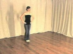 """""""Salsa Spin Technique 1 - Grounding and Posture"""" - Salsa Dance Lesson by Maria - guajira (#1017)"""