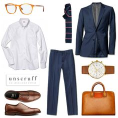 You don't always need a lot of color to make a statement. Let the quality and fit of your clothes speak.
