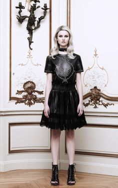 Embellished Leather Tee by Givenchy Now Available on Moda Operandi