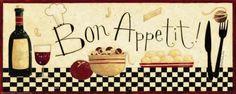 Bom apetite, em francês Pôsteres por Dan Dipaolo na AllPosters.com.br