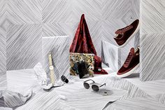 Set design by Sarah Parker for Oki-ni (photographed by Charlie Phillips and Sally Finnegan)