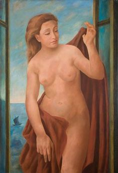 Ubaldo Oppi - Nudo alla finestra, 1932