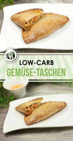 Die low-carb Gemüse-Taschen nach asiatischer Art sind nicht nur lecker sondern auch glutenfrei.