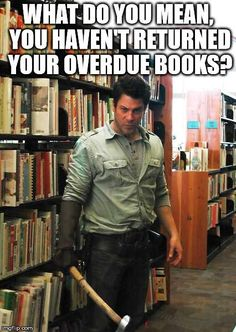 My Librarian friends want to hire @ChristianKane01 for their branch! LOL! @Dean_Devlin #TheLibrarians @BrandXMgmt