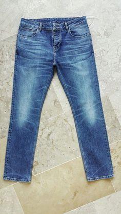 Biker Jeans, Denim Pants Mens, Jeans Pants, Men's Denim, Denim Ideas, Vintage Jeans, Girls Jeans, Jeans Size, Menswear