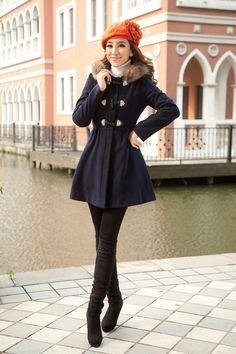 Ride Slim thin waist coats jacket-$47.32@fashion4us