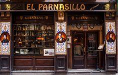 Resultado de imagen para bares irlandeses Irish Bar, Liquor Cabinet, Storage, Furniture, Madrid, Language, Learning, Home Decor, Languages