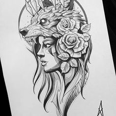 Longsleeve sketch Zeus/Hades - Your dream wedding and venue organization, Your dream wedding and venue organization Wolf Girl Tattoos, Lion Head Tattoos, Lion Tattoo, Body Art Tattoos, Sleeve Tattoos, Moth Tattoo, Inca Tattoo, Sketch Style Tattoos, Tattoo Design Drawings