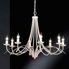 Eight-bulb chandelier Hannes-Chandeliers Country/Rustic-4580955-22
