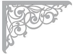 Flower borders stencil.Reusable wall diy decor craft  stencils hs3
