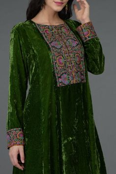 A Global Luxury Design House reinterpreting Indian heritage threads for the modern, discerning consumer Designer Dress For Men, Indian Designer Outfits, Designer Dresses, Velvet Dress Designs, Kurta Patterns, Fancy Dress Design, Embroidery Suits Design, Velvet Fashion, Embroidered Clothes