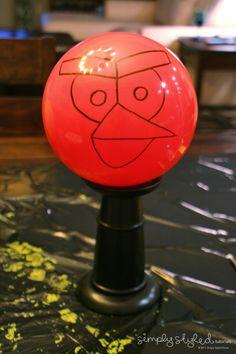 diy angry birds balls