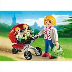 La semana que viene este cochecito de gemelos esperará a su próximo dueñ@! #cochecito #mamá #gemelos #mellizos #bebe #playmobillovers #playmobil #playmobilfigures #cliks #playmyplanet #playmobilespaña