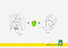 キャンディー1つで、人が変わる!? 学生が制作したとは思えないハイクオリティなプリント広告 | AdGang