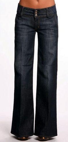 Hudson wide legged trouser