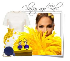 """""""......"""" by elenb ❤ liked on Polyvore featuring Post-It, Esme Vie, Jennifer Lopez, Fendi and Christian Lacroix"""