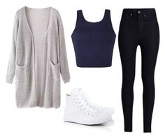 """Untitled #1316"" by didneyworl ❤ liked on Polyvore featuring moda, Ally Fashion, Rodarte ve Converse"