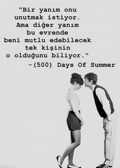 Bir yanım onu unutmak istiyor. Ama diğer yanım da bu evrende beni mutlu edebilecek tek kişinin o olduğunu biliyo.   - (500) Days of Summer  #sözler #anlamlısözler #güzelsözler #manalısözler #özlüsözler #alıntı #alıntılar #alıntıdır #alıntısözler #şiir #edebiyat #filmreplikleri #filmsözleri #film