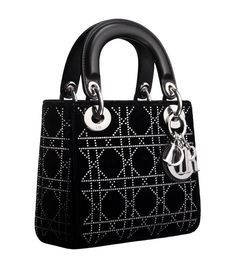 Lady Dior bag would look great with THIS https://www.etsy.com/listing/127570296/my-angel-in-black-bag-dangle-diamonte?ref=shop_home_active