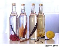 Make Your Own Infused Flavored Alcohol - DIY Inspired