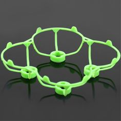 Blade / Propeller Protection Frame for Cheerson CX - 10 / CX - 10A / WLtoys V676 / JJRC H7 RC Quadcopter - GREEN