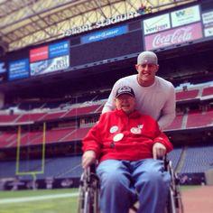 JJ and his grandpa James Watt e6390e8c9