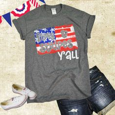 Get your Football Mom T-Shirt today and start showing your support for your favorite player! also has a collection of Football T-Shirts you can personalize and monogram. Fourth Of July Shirts, Patriotic Shirts, 4th Of July Outfits, July 4th, Casual Dress Outfits, Fashion Outfits, Monogram T Shirts, Quality T Shirts, Sports Shirts