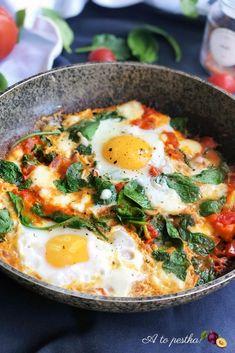 Diet Recipes, Cooking Recipes, Healthy Recipes, Health Breakfast, Breakfast Recipes, Healthy Drinks, Healthy Eating, Shakshuka Recipes, Diy Food
