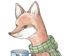 "Check out new work on my @Behance portfolio: ""Mr. Fox"" http://be.net/gallery/55545257/Mr-Fox"