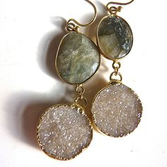 A personal favorite from my Etsy shop https://www.etsy.com/listing/188870936/druzy-drusy-and-18k-gold-vermeil-genuine