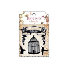Little Miss Clear Stamp Bo Bunny #stamps #stamping
