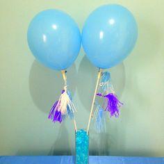 balloon tassel fancy