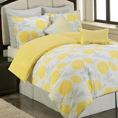 Sunset and Vines Briar Cliff 6-pc. Comforter Set - XL Twin Reversible, ckecked other side