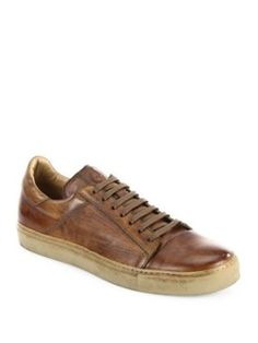 BELSTAFF Wanstead Low Top Leather Sneakers. #belstaff #shoes #sneakers