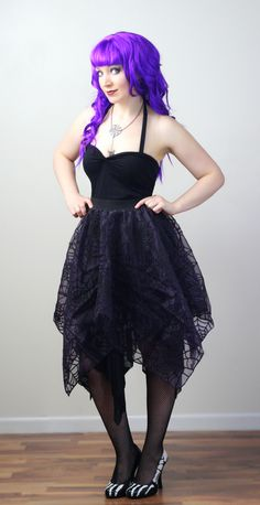 How to Make a Pixie Skirt and Other Circle Skirt Variations – DIY Fashion Tutorial | WhatTheCraft