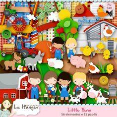 Kit Digital Little Farm by Lu Ifanger