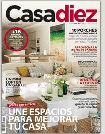 Revista de decoración Casa Diez