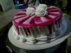 como decorar una torta en forma de corazón para tu amor muy fácil y rrapido - wilber yucra - YouTube