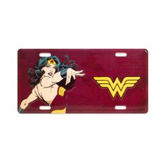 Placa de Parede Wonder Woman Power #WonderWoman @PowerGirls #bandUPStore
