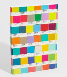 pantone journal: one day I'll get around to making myself one of these.