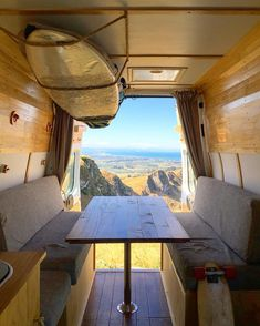 Living and surfing in New Zealand Working on the final stages of my Ford Transit campervan