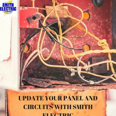The #Electrical panel to your home is the main doorway for electrical current. Having an up to date panel and circuits is key for in the home safety. Give us a call here at #SmithElectric to learn more. 251471-4723! #SoMobile
